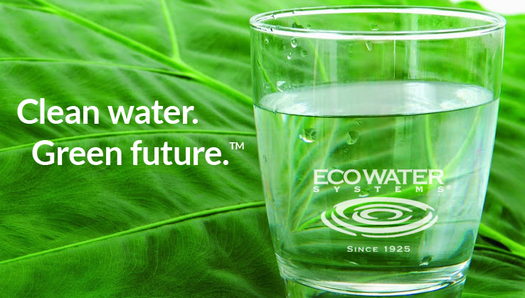Clean water. Green future. EcoWater Systems