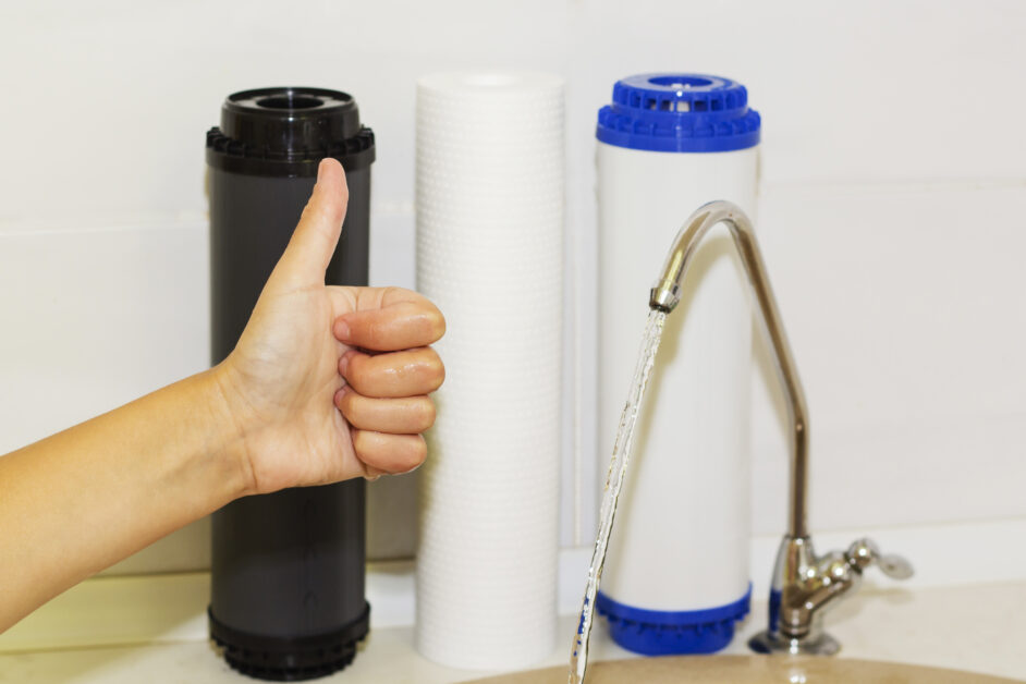 water purifiers in kitchen